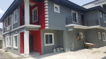 Brand New and Nicely Finished 4 Bedroom Semi Detached Duplex with a Very Spacious Compound, Ogoyo Estate, Alaguntan Ilaje, Ajah, Lagos, Semi-detached Duplex for Rent