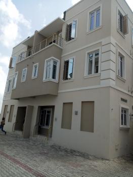 Newly Built 5 Bedroom Terrace Duplex with  Room Bq, Alternative Route, Chevron Drive, Chevy View Estate, Lekki, Lagos, Terraced Duplex for Sale