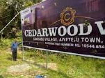 Cedarwood Villa, Opp The Lagos State Metropolitan Park, Ayeteju Town, Ajah, Lagos, Residential Land for Sale