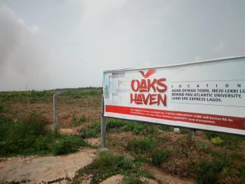 Oak Haven Estate Behind Pan African.university, Eleko, Oak Haven, Behind The Popular Pan African University, Eleko, Ibeju Lekki, Lagos, Residential Land for Sale