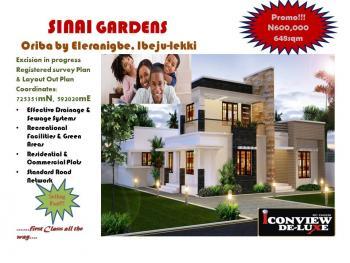 Cheapest Genuine Dry Plot, Oriba Road, Eleranigbe, Ibeju Lekki, Lagos, Residential Land for Sale