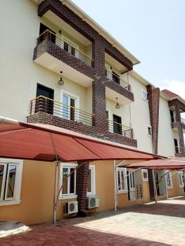 Luxury Affordable Smart 4 Bedroom Terrace Duplex  with a Room Bq Self Serviced in a Gated and Secured Estate with Alotted Car Port, Off Kusenla Road, Ikate Elegushi, Lekki, Lagos, Terraced Duplex for Rent