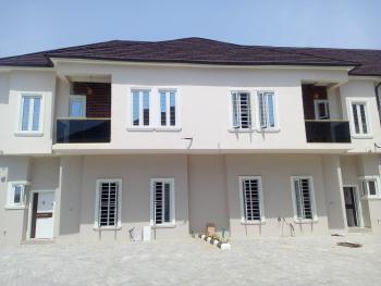 New Spacious 3 Bedroom Terrace Duplex with Bq, By 2nd Chevron Toll Gate, Lekki Expressway, Lafiaji, Lekki, Lagos, Terraced Duplex for Sale