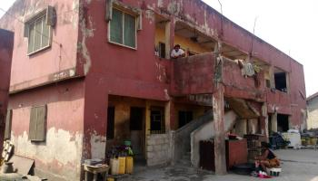 a Storey Building at Alaafia Street, Coker, Amukoko with C of O, Alaafia Street, Coker, Amukoko, Orile, Lagos, House for Sale
