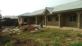 3 Bedroom Bungalow with Newly Built Mini Flats, Peculiar Street, Ascon Bus-stop, Ibafo, Ogun, House for Sale