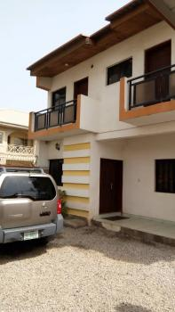 3 Bedroom Duplex with 1 Bedroom Guest House + 1 Room Bq on a Corner Piece with C of O, Biskra Street, Ibrahim Abacha Estate, Zone 4, Behind Sheraton Hotel, Central Business District, Abuja, Semi-detached Duplex for Sale