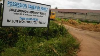Fantastic Location, Plot of Land at Sixth Avenue Festac at 4million per Plot, Sixth Avenue Festac, Alimosho, Lagos, Residential Land for Sale