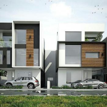 4 Bedroom Luxury, Semi-detached House, Circle Mall, Lekki Phase 2, Lekki, Lagos, House for Sale