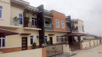 4 Bedroom Semi-detached Duplex with Bq, Off Orchid Hotel Road, 2nd Toll Gate, Lafiaji, Lekki, Lagos, Semi-detached Duplex for Sale