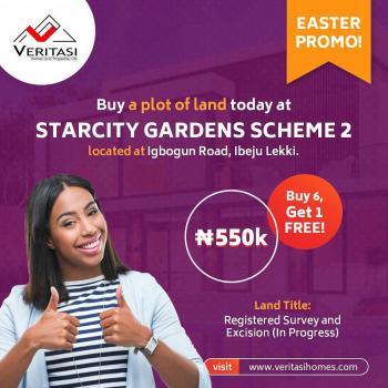 Easter Promo! Buy 5 Plots and Get 1 Plot Free, Igbogun Road, Lekki Free Trade Zone, Lekki, Lagos, Residential Land Joint Venture