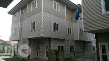 4 Bedroom Terrace Duplex with a Room Bq, Adebola Akindele Street, Saint Agnes, Yaba, Lagos, Terraced Duplex for Sale
