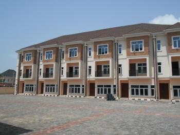 Brand New 4 Bedroom Terrace House with a Room Bq, Osapa, Lekki, Lagos, Terraced Duplex for Sale