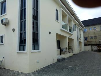 Luxury Service 4 Bedroom Terrance with Bq, Ac, Osapa, Lekki, Lagos, Terraced Duplex for Rent