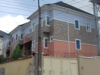 a Lovely 4 Bedroom Terrace Duplex and a Room Boys Quarter, Osapa, Lekki, Lagos, Terraced Duplex for Sale