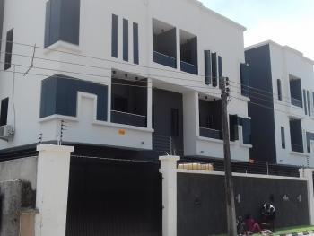 a Smart 4 Bedroom Semi-detached Duplex with a Room Boys' Quarter, Osapa, Lekki, Lagos, Semi-detached Duplex for Sale
