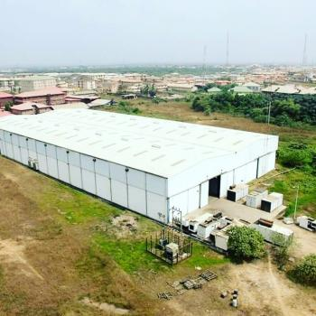 Huge Expanse of Land with a Warehouse, Lagos-ibadan Expressway, Ibafo, Ogun, Industrial Land for Sale