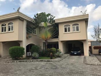 4 Bedroom Terrace with 2 Rooms Bq and a Study Room, Comes with Swimming Pool and Other Facilities, Osborne Phase 1, Osborne, Ikoyi, Lagos, Terraced Duplex for Rent
