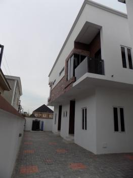 Brand New Well Finished 4 Bedroom Luxury Terraced Duplex ( 2 Units in a Compound), Behind Circle Mall, Osapa, Lekki, Lagos, Terraced Duplex for Sale