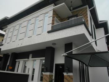Brand New 4 Bedroom Semi Detached House  with a Room Bq, Chevy View Estate, Lekki, Lagos, Semi-detached Duplex for Sale