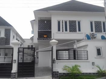 a Tastefully Built 4 Bedroom Semi-detached Duplex with a Room Boys' Quarter, Osapa, Lekki, Lagos, Semi-detached Duplex for Sale