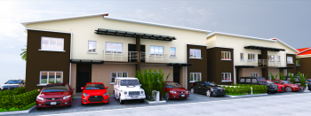4 Bedroom Terrace Duplexes, Dynasty Estate, African University of Science & Technology, Galadimawa, Abuja, Terraced Duplex for Sale
