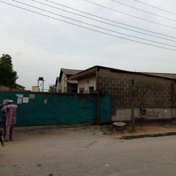 5 Bays Warehouse on 4,978.785sqm Fenced with Gate Suitable for Hotel, Schools, Banking Hall, Events Center Or Commercial Estate, Demurin Road, Alapere, Ketu, Lagos, Warehouse for Sale