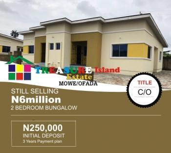 Finished 2 Bedroom Bungalows, Treasure Island Estate, Ori-lemo, Mowe Ofada, Ogun, Semi-detached Bungalow for Sale