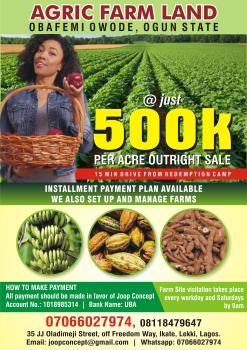 Agric Farm Land, Lafalu Village, Obafemi Owode, Ogun, Mixed-use Land for Sale