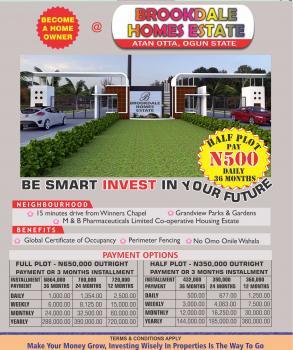 Brookdale Estate, Sokoto Road, Atan Otta, Sango Ota, Ogun, Mixed-use Land for Sale
