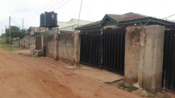 Two 3 Bedroom Flats Attached on 50ft By 120ft Plot of Land, 1st Uwaifo Street, Oluku Benin, Ovia North-east, Edo, Terraced Bungalow for Sale
