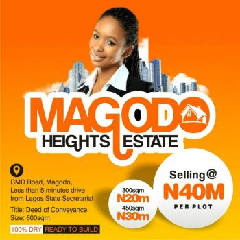 Magodo Heights Estate, Cmd Road, Magodo, Lagos, Residential Land for Sale