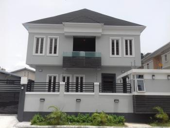 a Newly Built 5 Bedroom Fully Detached Duplex and a Room Boy's Quarter with Ample Parking Space, Osapa, Lekki, Lagos, Detached Duplex for Sale