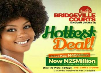 Land for Sale at Magodo Gra Phase 2 in Lagos - Bridgeville Courts, Gra, Magodo, Lagos, Residential Land for Sale