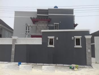 a Tastefully Built 4 Bedroom Semi-detached Duplex with a Room Boy's Quarter, Osapa, Lekki, Lagos, Semi-detached Duplex for Sale