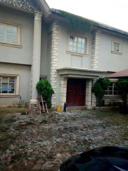 Solid 5 Bedroom Fully Detached House with Guest Chalet on 800sqm of Land, Close to Shoprite, Alausa, Ikeja, Lagos, Detached Duplex for Sale