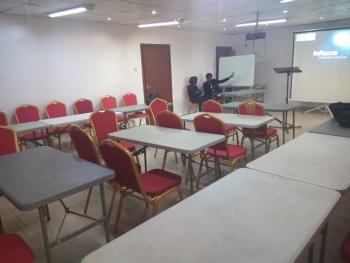 Hall, 7, Razak Balogun Street, Off Adebola Street, Adeniran Ogunsanya, Surulere, Lagos, Conference / Meeting / Training Room for Rent