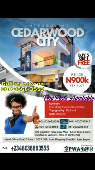 Cedarwood City, Along Epe - Ikorodu Road, Epe, Lagos, Mixed-use Land for Sale