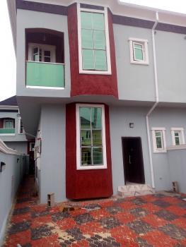 Very Cute 4 Bedroom Spacious Duplex with Mini Bq Ikota Lagos (family Crib), Ikota-off Lekki County, Ikota Villa Estate, Lekki, Lagos, Semi-detached Duplex for Sale