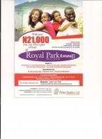 Royal Park Estate Phase 2( Land ) With Just 21,000 Initial Deposit Balance Spread Over 35months ( Minimum Of #21,000 Every Month ), , Mowe Ofada, Ogun, Land For Sale