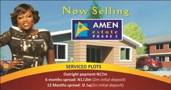 Land at Amen Estate Phase 2 (emerald Bay Estate, C of O), Lekki Free Trade Zone Road, Eleko, Ibeju Lekki, Lagos, Residential Land for Sale