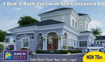 4  Bedroom Villa, Amen Estate Phase 2, Eleko Beach Road, Eleko, Ibeju Lekki, Lagos, Semi-detached Duplex for Sale