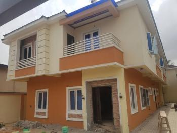 4 Bedroom Duplex with Bq Each, Fatai Animashaun, Beside Police Post, Gra, Magodo, Lagos, Semi-detached Duplex for Sale