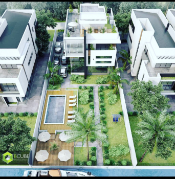 Off Plan Sale of Premium Ultra Luxury 6 Bedroom Waterfront  Fully Detached House on 1000sqm, Residential Zone, Banana Island, Banana Island, Ikoyi, Lagos, Detached Duplex for Sale