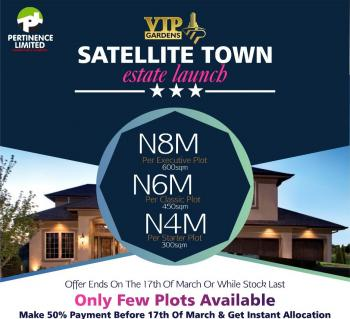Plots of Land, Satellite Town, Ojo, Lagos, Land for Sale