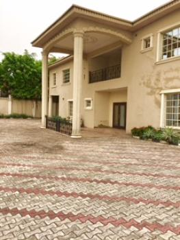 8 Bedroom  Fully Detached House with 5 Rooms Bq, Osborne, Ikoyi, Lagos, Detached Duplex for Rent