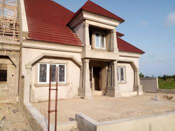 4 Bedroom Semi Detached Duplex (carcass), Eden Garden Estate, Ajah, Lagos, Semi-detached Duplex for Sale