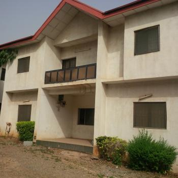 Twin 5 Bedroom Duplexes Suitable for Office Use( Needs Renovation), Off Aminu Kano Crescent, Wuse 2, Abuja, Office Space for Rent