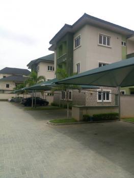 Luxury 3 Bedroom Terrace House, Willow Green Estate, Osapa, Lekki, Lagos, Terraced Duplex for Rent