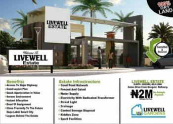 Livewell Estate, Ogogoro, Ibeju Lekki, Lagos, Residential Land for Sale