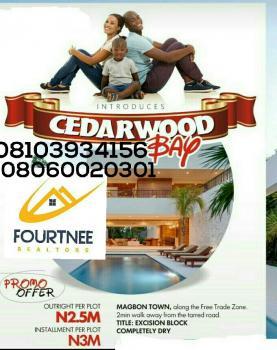 Cedarwood Bay Estate with Excision Block, Magbon, Along Lekki Free Trade Road, Orimedu, Ibeju Lekki, Lagos, Residential Land for Sale